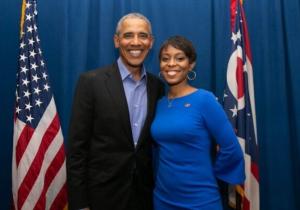 Shontel Brown N Obama