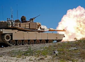 Trump M1 Abrams Tank